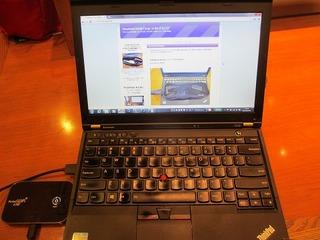 カッコイイノートパソコン ThinkPad X230